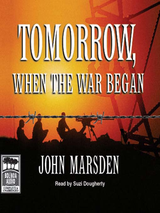 Image result for tomorrow when the war began book cover